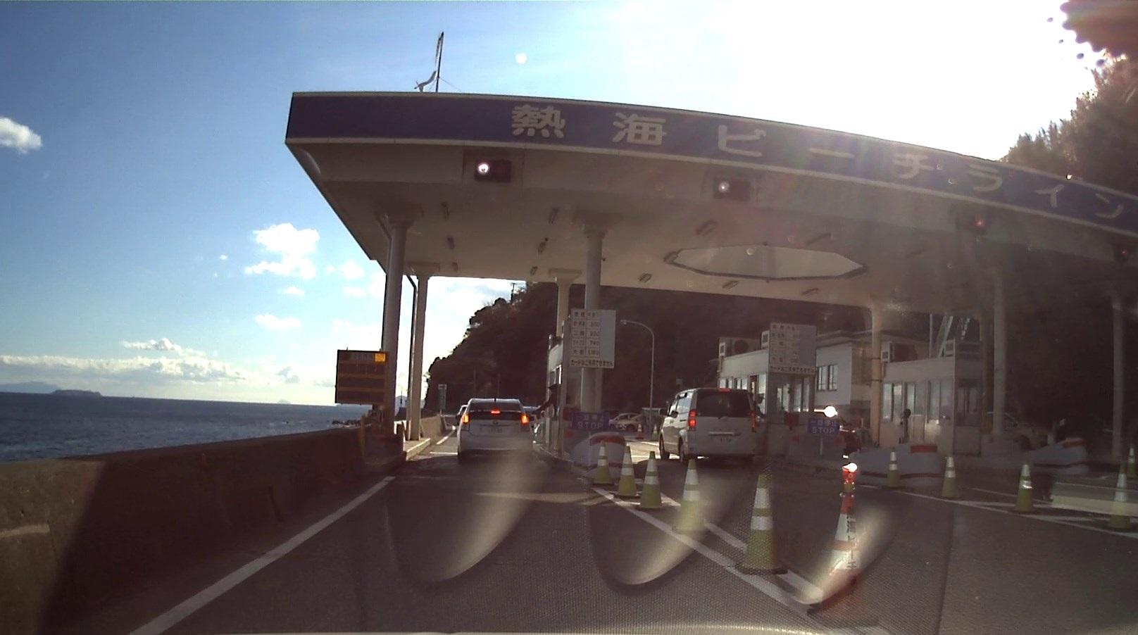 【熱海ビーチライン】ゆったりとドライブする海岸線 静岡県