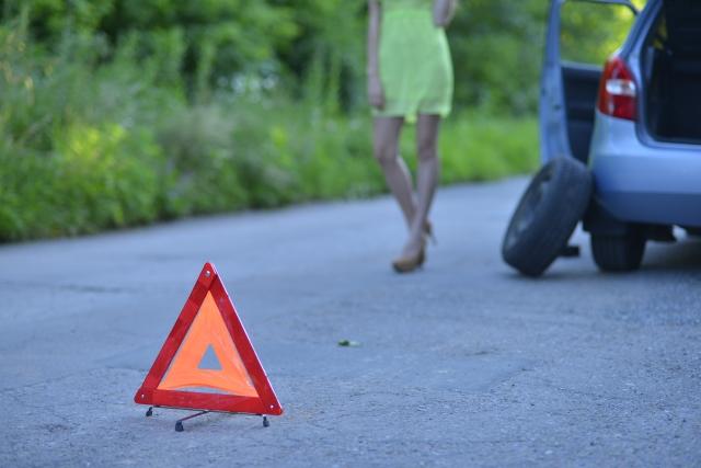 三角表示板(警告反射板)